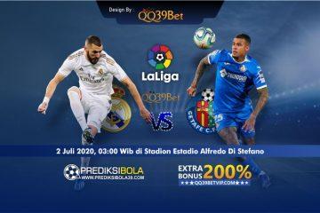Prediksi Real Madrid vs Getafe 3 Juli 2020