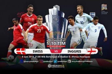 Prediksi Swiss vs Inggris 9 Juni 2019