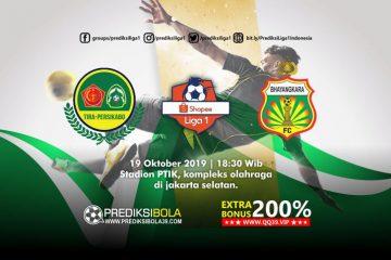 Prediksi TR-Kabo vs Bhayangkara FC 19 Oktober 2019