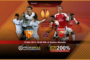 Prediksi Valencia vs Arsenal 10 Mei 2019 Semi Final UEL